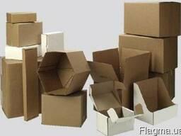 Куплю коробки (ящики) картонные, гофротара б/у ОПТОМ
