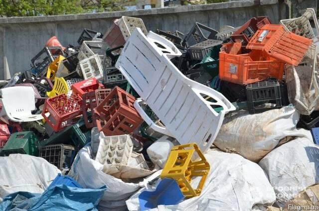 Пластиковая тара, лом пластмасс, отходы производства