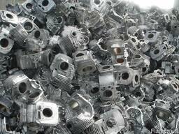 Куплю моторный лом алюминия(кусковой, литьё, чушку)
