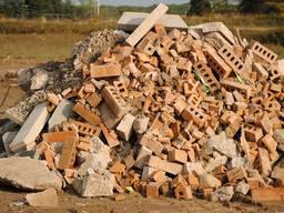 Вывоз строительного мусора, Камаз