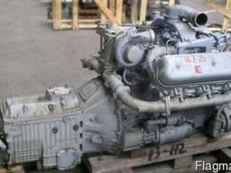Двигатель ЯМЗ 236НЕ-2-28 с КПП 1