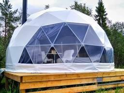 Купол для глемпинга - купольные дома и шатры для отдыха