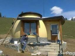 Купольные дома, дома сферы в Украине под ключ!