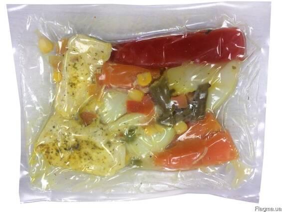 Куриное мясо с овощами в вакууме (су-вид) 0,3 кг SmaCom