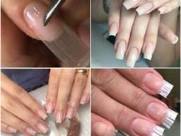 Курсы Наращивание ногтей на стекловолокно
