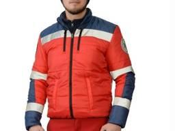 Куртка чоловіча болонієва Парамедик