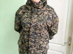 Куртка д/с, мужская, женская, камуфлированная