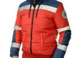 Куртка демисезонная скорой помощи, мужская, плащевка
