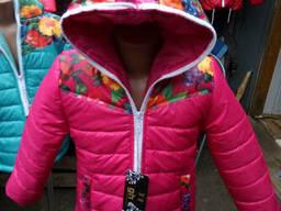 Куртка детская для девочки деми 4-7 лет
