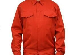 Куртка рабочая мужская красная