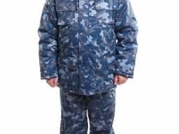 Куртка для охраны с капюшоном