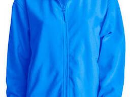 Мужская флисовая куртка цвет светло синий в наличие