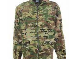 Куртка флисовая камуфлированная