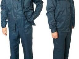 Куртка и полукомбинезон летние, костюм рабочий, спецодежда