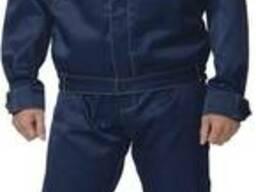 Куртка и полукомбинезон темно синий, рабочие костюмы продажа