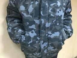 Куртка камуфлированная для охранника на синтепоне