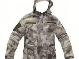 Куртка зимняя на флисе A-tacs AU