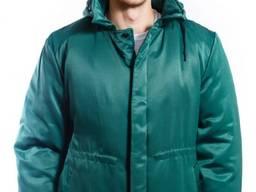 Куртка Контакт темно-зеленая