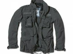 Куртка М65 Giant Brandit Vintage с подкладкой черная