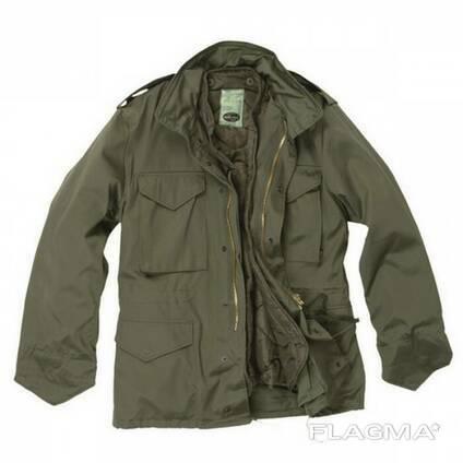 Куртка М65 импортная с подкладкой Оливковая