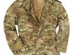 Куртка М65 Mil-Tec с подстежкой Multicam
