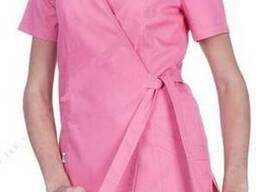 Куртка медична на запах жіноча