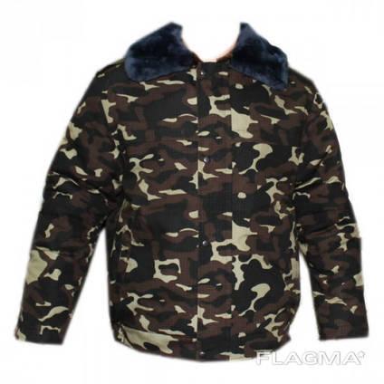 Куртка меховая с овчиной Дубок