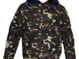 Куртка меховая натуральная овчина дубок