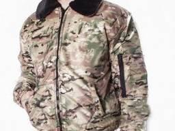 Мужская зимняя куртка цвет камуфляж