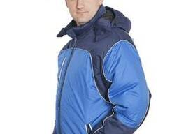 """Куртка мужская утепленная """"Фабиан"""" т. синий/василек"""