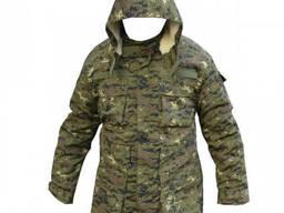 Куртка на овчине Грузинский пиксель