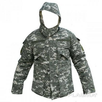 Куртка на овчине НАТО ACU пустыня