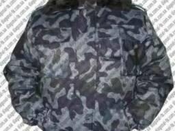 Куртка охранника камуфлированная. Куртка камуфлированная