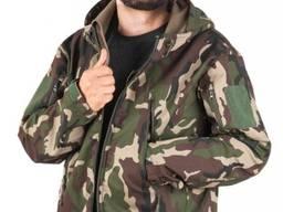 Куртка рабочая LEBER HOLLMAN LH-WOODLAND. 95% полиэстер, 5% spandex. Цвет:Камуфляж