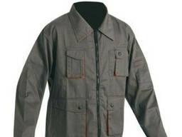 Куртка рабочая летняя, спецодежда пошив, рабочая курточка