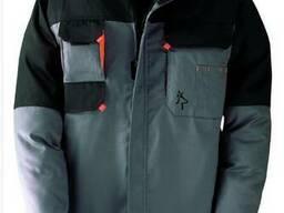 Куртка рабочая, рабочая куртка, куртка серая с карманами