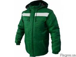Куртка рабочая, спецодежда утепленная, форма для заправщика