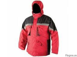 Куртка рабочая утепленная с капюшоном