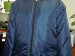Куртка рабочая утепленная, темно-синяя