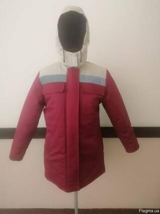 Куртка утепленная под заказ с лого