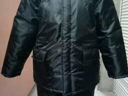 "Куртка рабочая зимняя ""Аляска"" цвет черный, плащевая ткань"