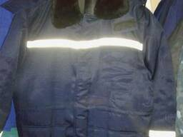 """Куртка рабочая утепленная """"Вектор"""", с капюшоном."""