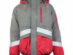 Куртка рабочая зимняя с резинкой снизу