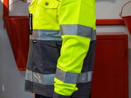 Куртка робоча сигнальна Sizam Sunderland