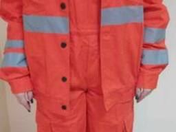Куртка с полукомбинезоном саржа под заказ с СВП
