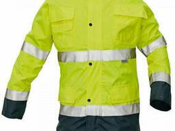 Куртка сигнальная утепленная повышенной видимости (Германия)