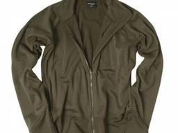 Куртка флисовая легкая оливковая