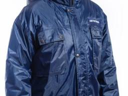 Куртка SYBERIA G REIS с капюшоном темно-синяя