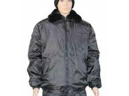 Куртка Титан черная с кубиками