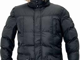 Куртка утепленная ANS LONG PARKA черная
